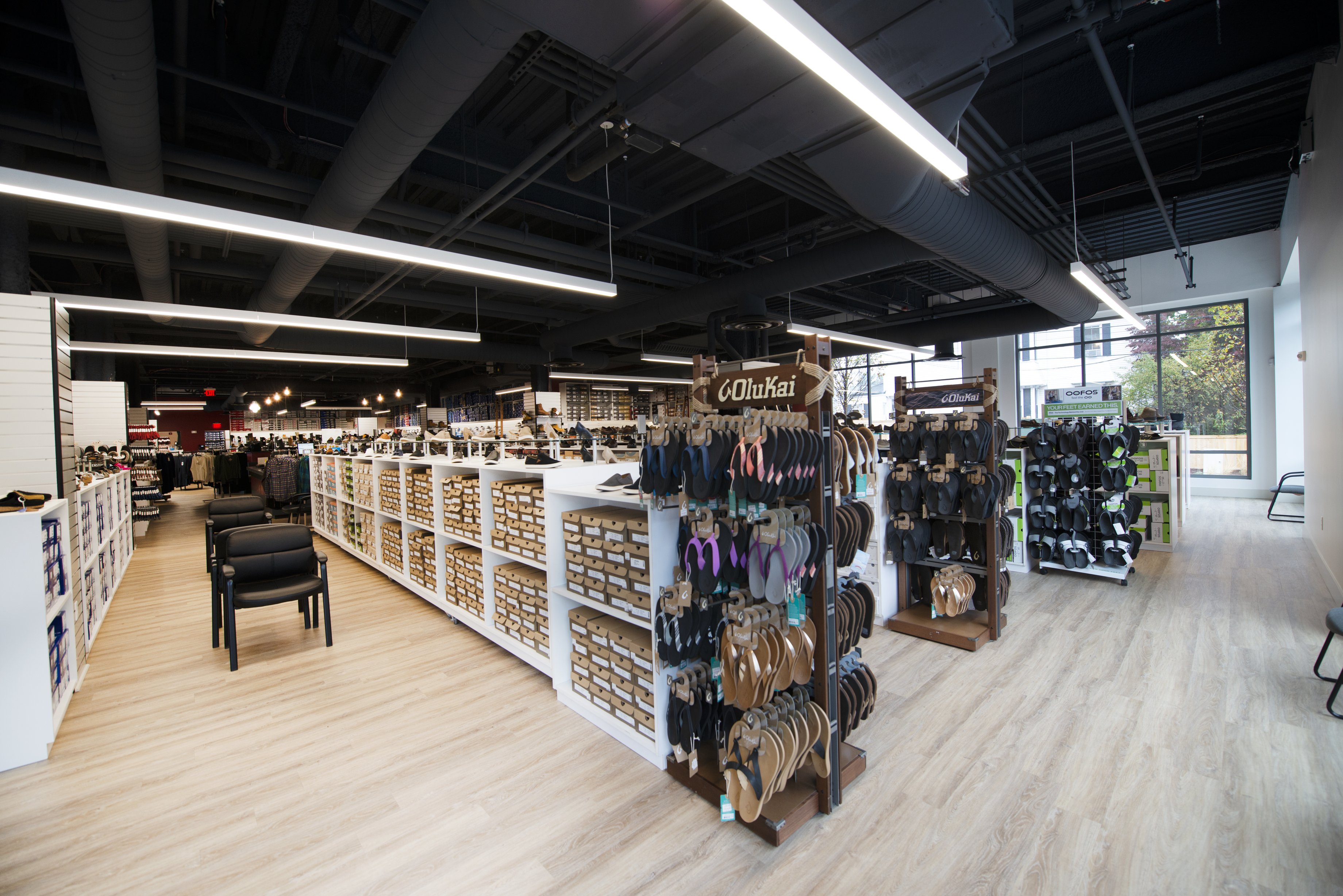 TRIO Newton retail: Barn Family Shoe Store brings top brands to ground floor