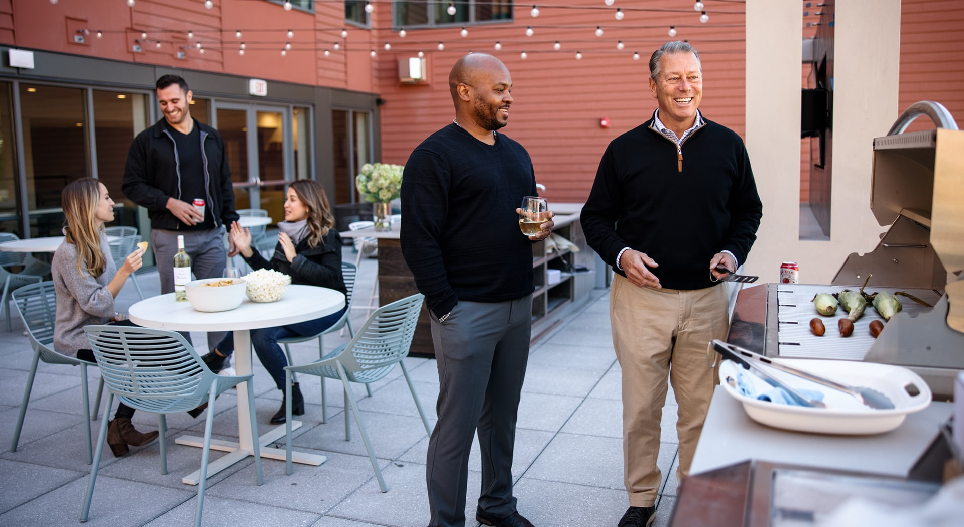 From morning yoga to a roof deck BBQ, here's a perfect Saturday at TRIO Newton